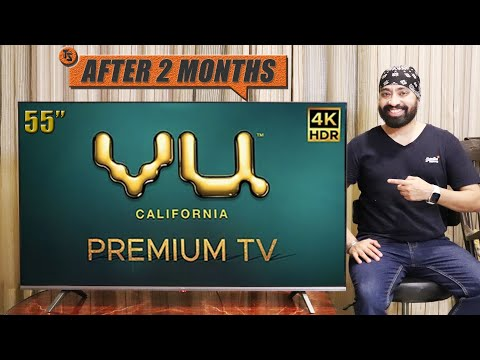 VU 4K Premium TV 55 inch - After 2 Months REVIEW - TECH SINGH