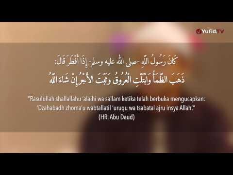 Doa Berbuka Puasa yang Shahih