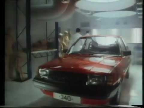Volvo 340 commercial 1987 - Crash test dummy