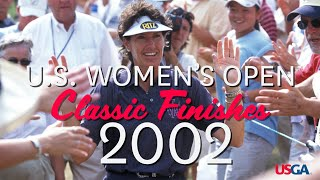 U.S. Women's Open Classic Finishes: 2002