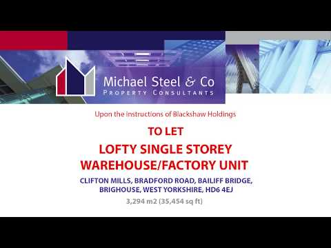 Property video - Industrial warehouse showcase - Blackshaw Holdings