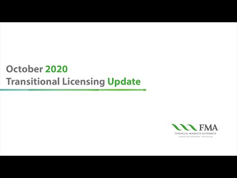 Transitional Licensing Update  - John Botica, Director Of Market Engagement