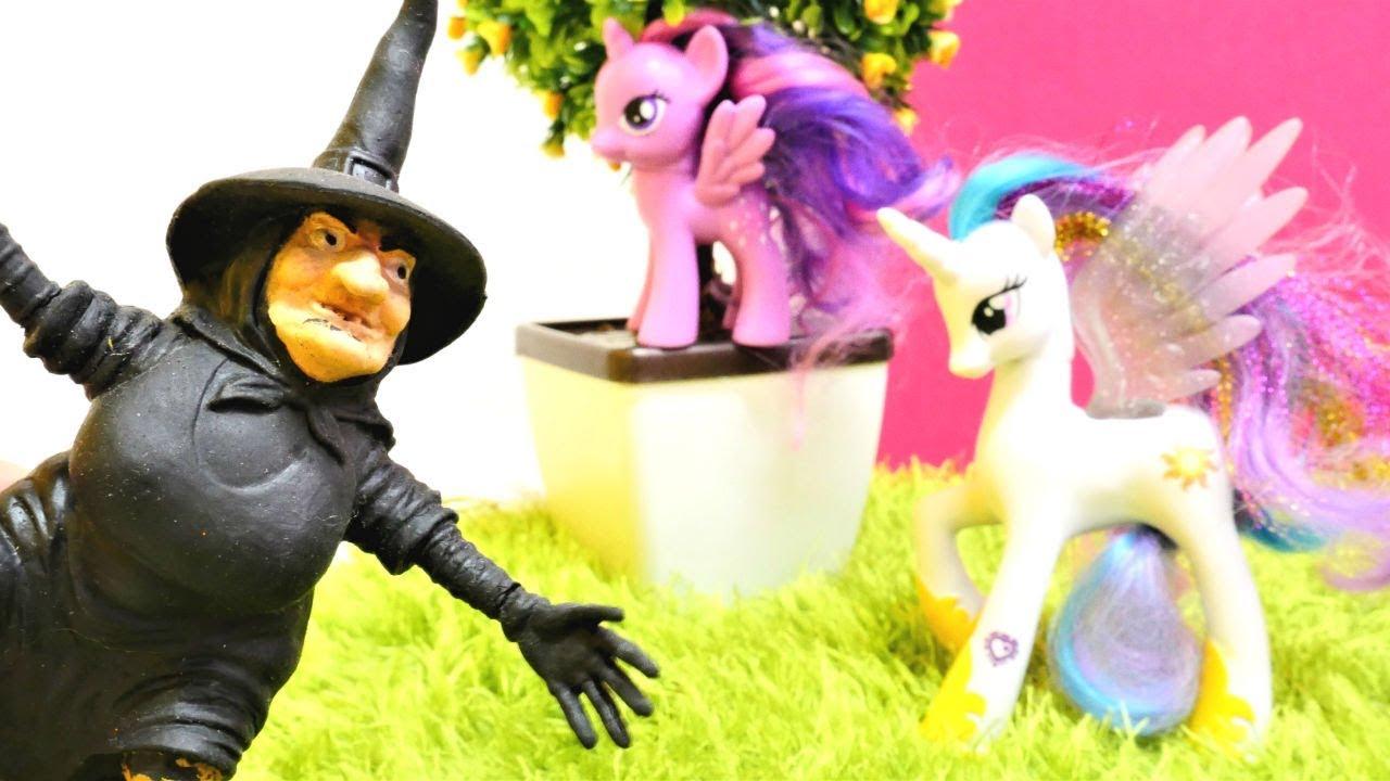 My Little Pony Prenses Celestia Twilight Sparkle Için Yardım Ediyor