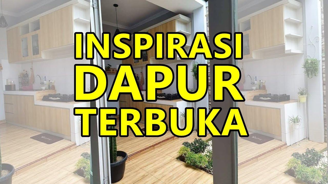 Inspirasi Rumah Minimalis Desain Dapur Terbuka Youtube Dapur menyatu dengan taman belakang