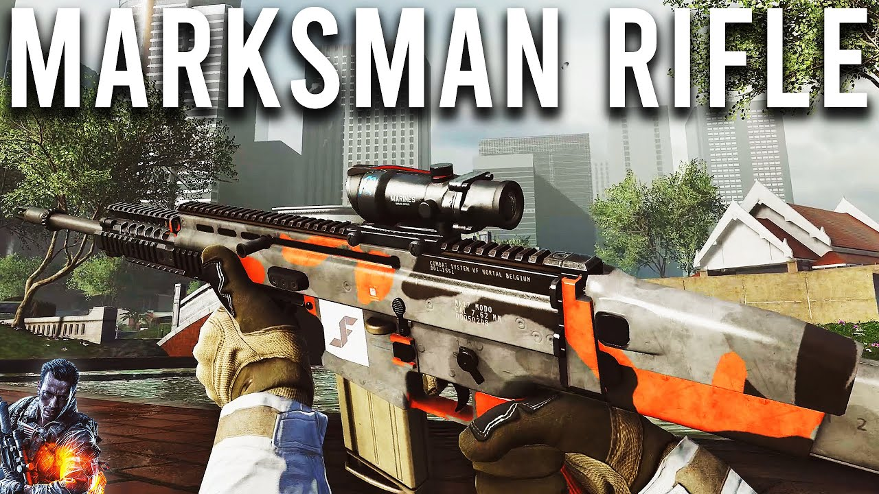 Marksman Rifle - Battlefield 4