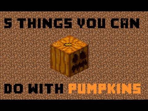 Things You Can Do With Pumpkins In Minecraft
