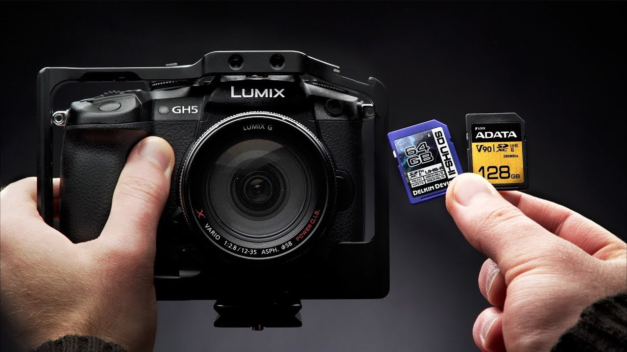 Best SD Cards for The Panasonic GH5 - YouTube b7487847c4