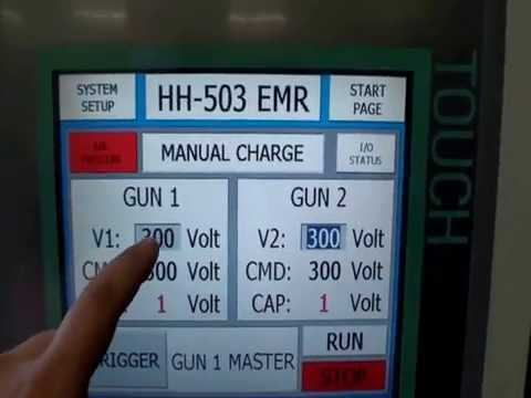 Hand-Held EMR Riveter Demo