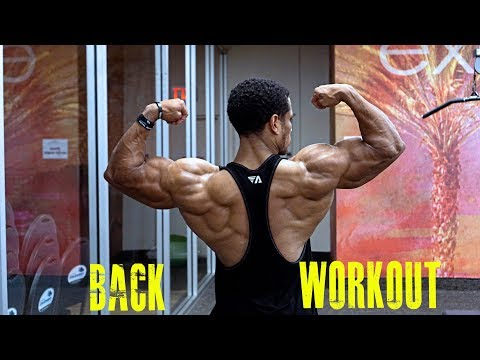Download Youtube: BACK WORKOUT -VOLUMIZER