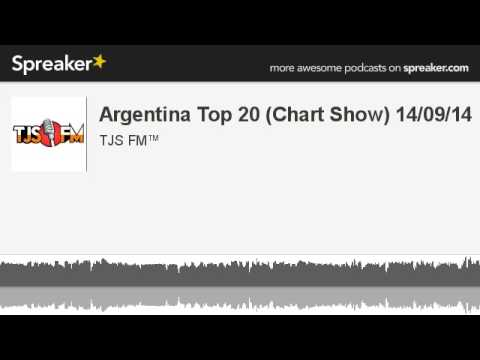 Argentina Top 20 (Chart Show) 14/09/14 (made with Spreaker)
