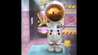 [my Talking Tom] How To Potty With A Spacesuit On‼️🙈💩👀#kamcordvoices