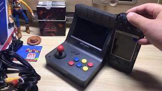 海外全網首發Retro Arcade Mini(RS-07)開箱20180831直播Neo Geo Mini Clone Portable Handheld/Game Console/rs-07