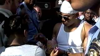 Exclusive: Nelly premieres The Longest Yard in St. Louis. Tim Lampley reports