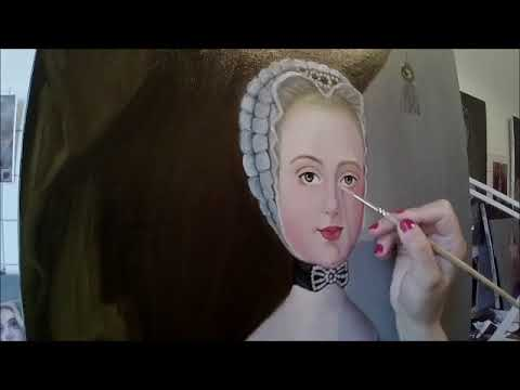 Painting a princess / classical painting technique  / Color Layer / Part 2