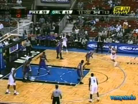 Grant Hill 29pts vs. Suns (03.26.2005)