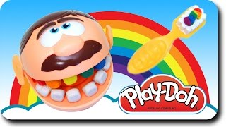 Learn Colors with Teeth Brush Play Doh | Teach Colours | Children Kids Learning Videos Baby Rhymes