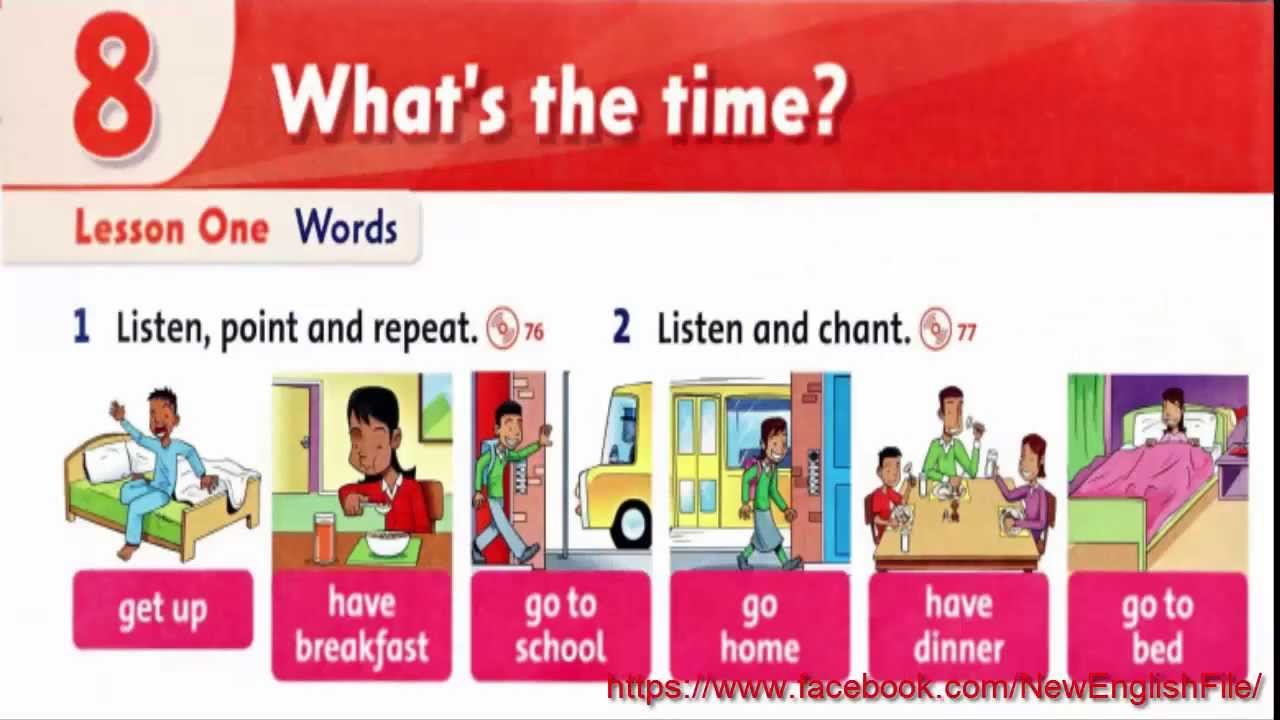 Unit 8 what is the time lesson 1 family and friends 2 youtube publicscrutiny Choice Image