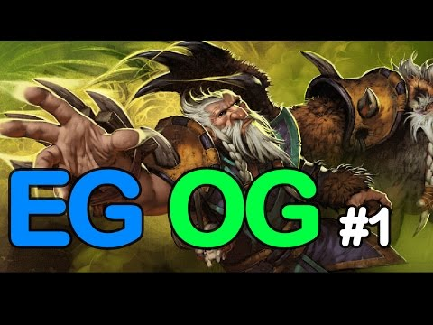 OG vs EG #1 - Bleed Blue Dream Green - Winners Finals Dota Pit 5 Dota 2