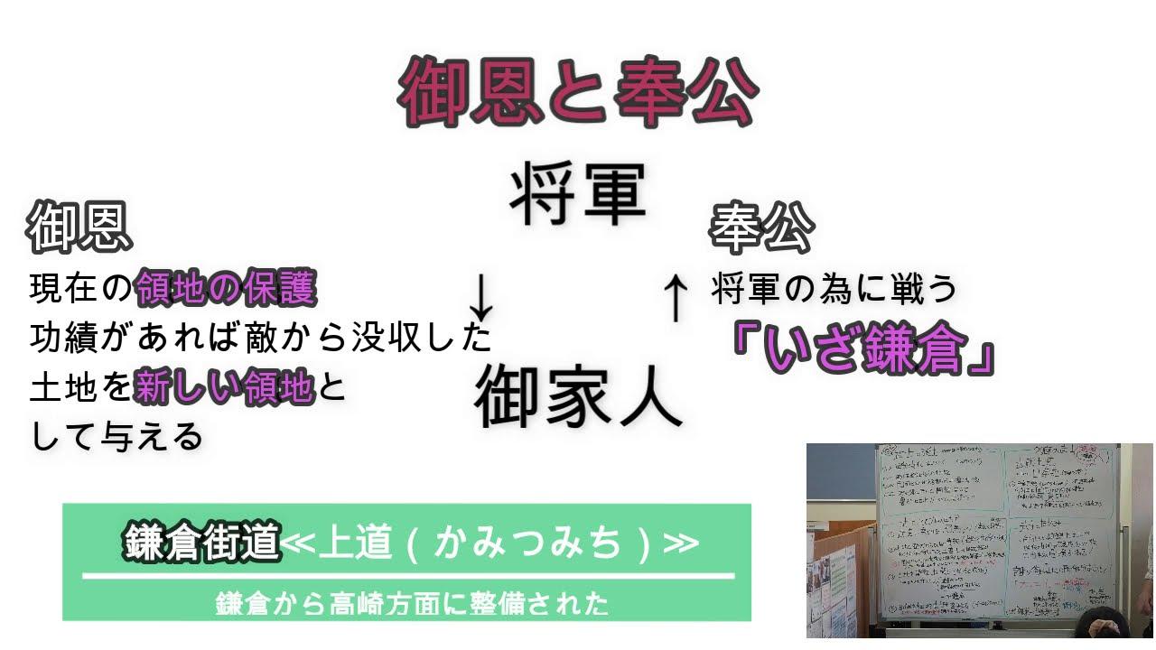 鎌倉時代をざっくり解説 中学定期テスト無料対策勉強会