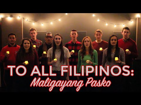 Silent Night - Americans Sing Tagalog, Bisaya, & English - Hey Joe Show