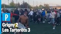 Grigny : 300 spectateurs réunis autour d'un match de foot « sauvage »
