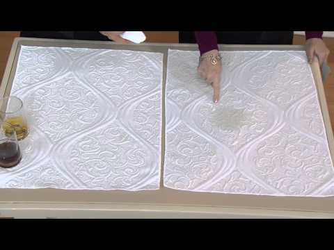 "Serta Immaculate Stain-Resistant 12"" Euro Top CK Mattress Set with Lisa Robertson"