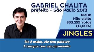 Jingle Gabriel Chalita (PMDB) - Prefeito São Paulo/SP 2012