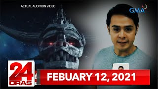 24 Oras Express: February 12, 2021 [HD]