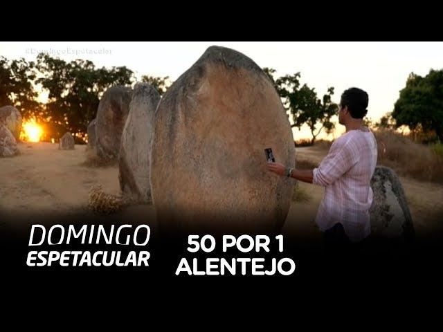 Álvaro Garnero visita misteriosa construção milenar no Alentejo