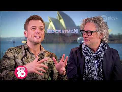 Taron Egerton & Dexter Fletcher Talk 'Rocketman'   Studio 10