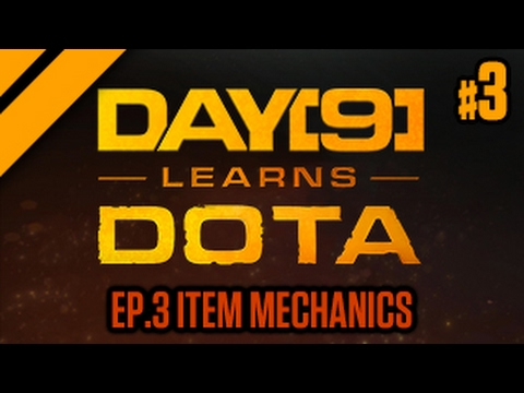 Day[9] Learns Dota - 3. Item Mechanics (Lesson w/ coach Purge)