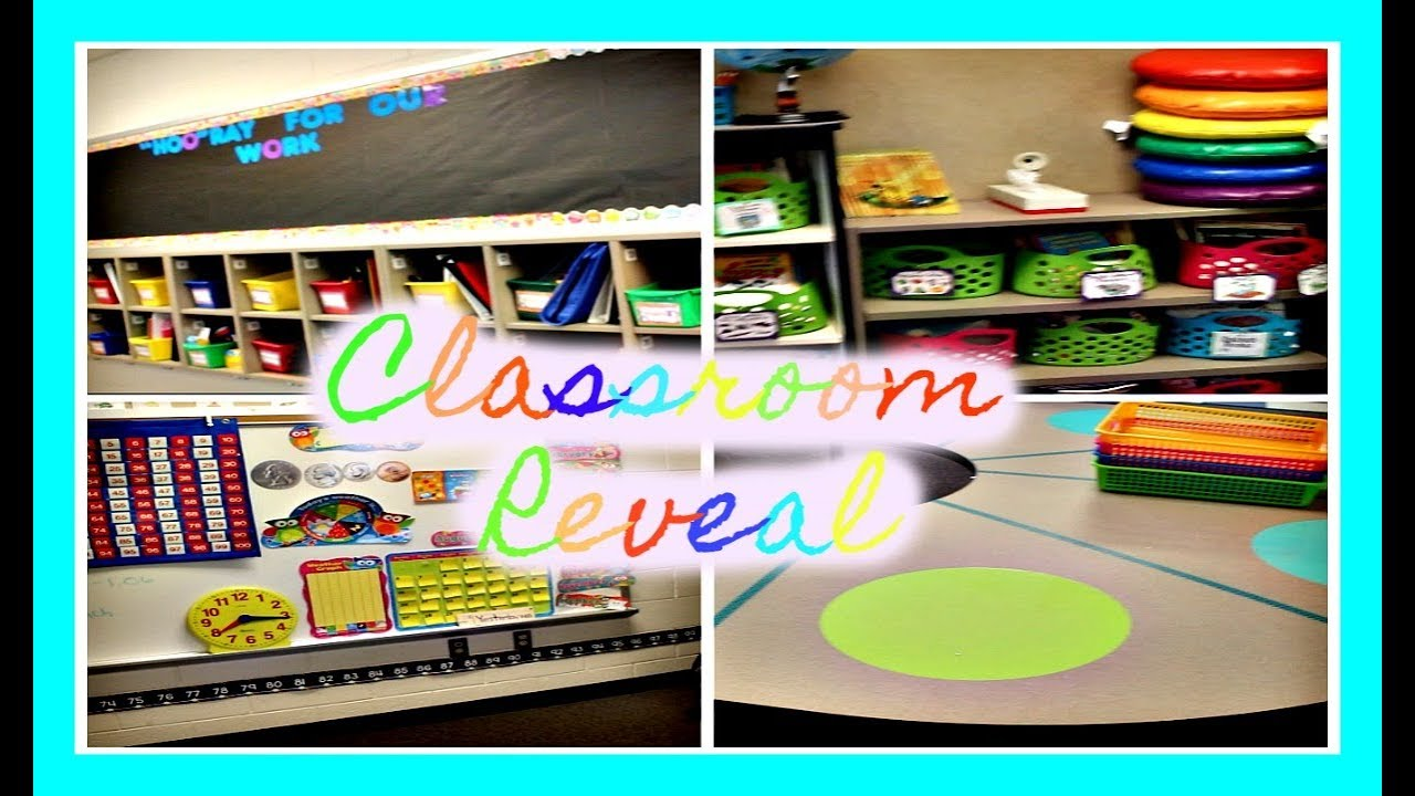 Innovative First Grade Classroom ~ Classroom tour first grade youtube