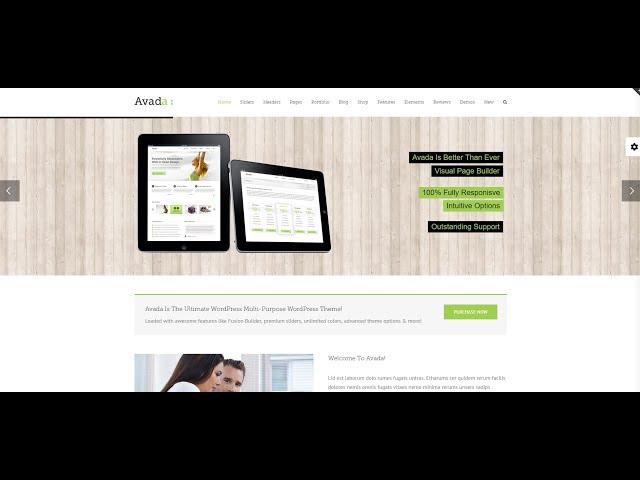 Avada Theme Tutorial | How To Set Up  Avada Header , Menu , Logo , Favicon