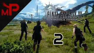 Final Fantasy XV Windows Edition Part 2 - How to spot a main character by their hair