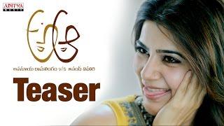 A Aa movie Teaser    Nithiin, Samantha, Trivikram, Mickey J Meyer