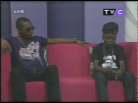 12 Year Old Lil P Up Against Olamide In A Rap Battle On Entertainment Splash (Official)