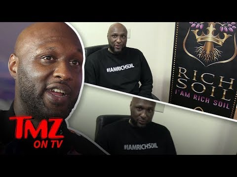 Lamar Odom's Getting Into The Weed Business!   TMZ TV
