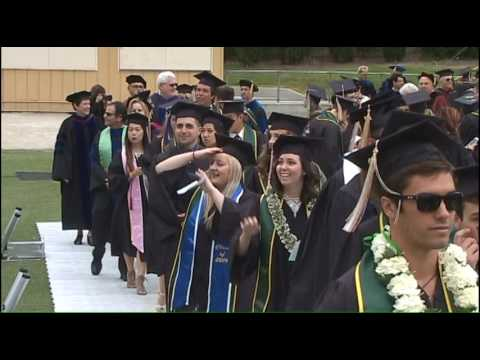 Cal Poly Spring 2016 Commencement 9am Sunday Ceremony