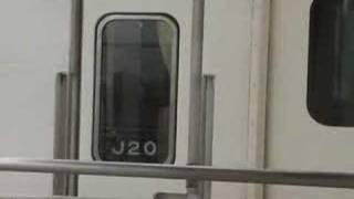 激レア新幹線オーバーラン!!!300系 小田原駅上りホーム thumbnail