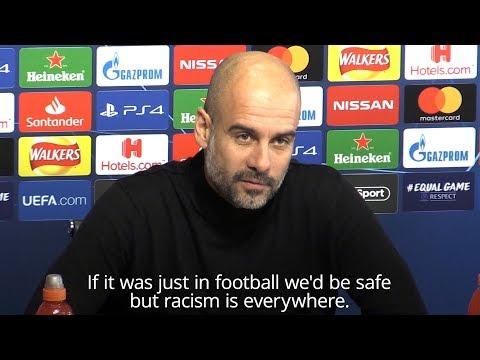 Pep Guardiola Praises 'Incredible' Raheem Sterling Says 'Racism Is Everywhere', Not Just In Football