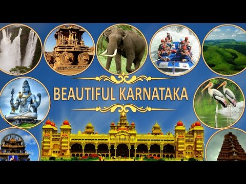 BEAUTIFUL KARNATAKA : ENTIRE KARNATAKA STATE TOUR IN 30 MINUTES