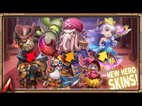 NEW CRAZY SKINS! Castle Clash