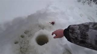 рыбалка на снегоходе буран на реке чебуръюган