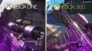 Xbox One Vs Xbox 360 - Pamaj Black Ops 2