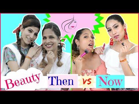 beauty---then-vs-now..|-#fun-#sketch-#roleplay-#anaysa-#shrutiarjunanand
