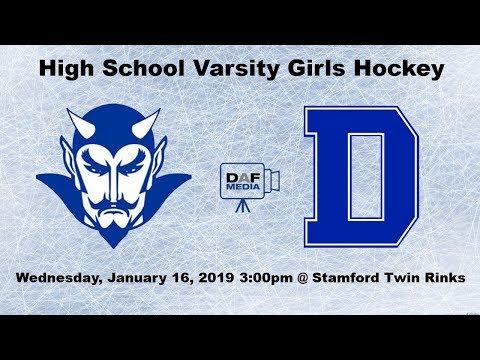 Darien Varsity Girls Hockey vs. West Haven