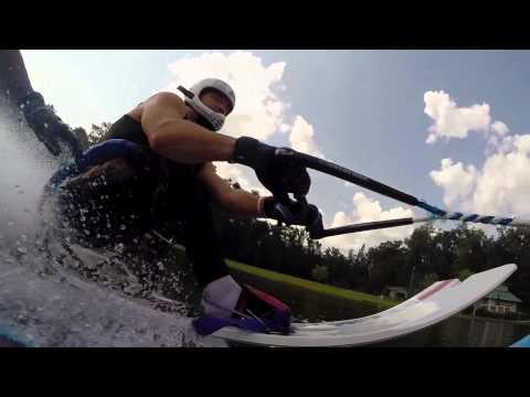Adaptive Waterski Jumping