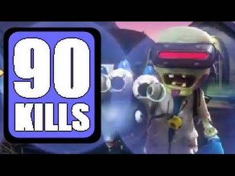 90 Vanquishes w/ Marine Biologist Plants vs. Zombies: Garden Warfare