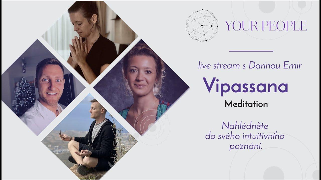 O Vipassaně s Darinou Amir - Live stream