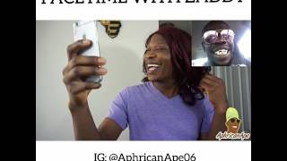Facetime with bae - zaddy - Aphricanace Comedy